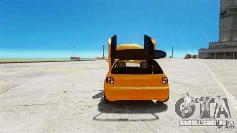 Honda Civic Tuned para GTA 4 vista de volta