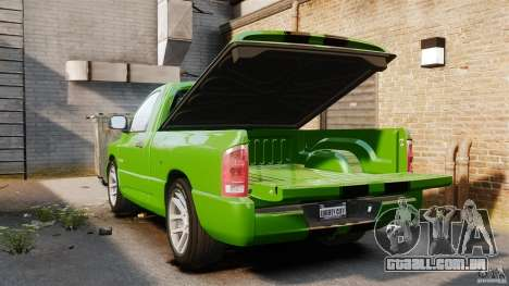 Dodge Ram SRT-10 2006 EPM para GTA 4 vista lateral