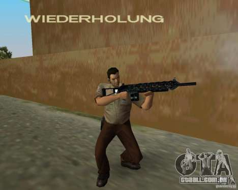 Armas de Pak de STALKER para GTA Vice City quinto tela