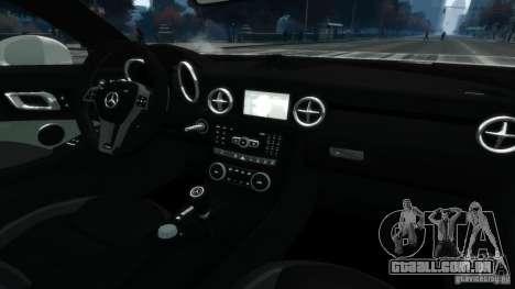 Mercedes-Benz SLK55 R172 AMG 2011 v1.0 para GTA 4 vista interior
