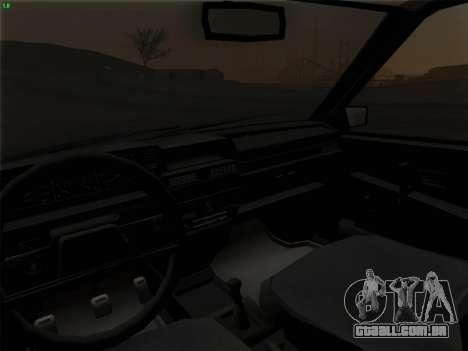 VAZ 21083i para GTA San Andreas interior
