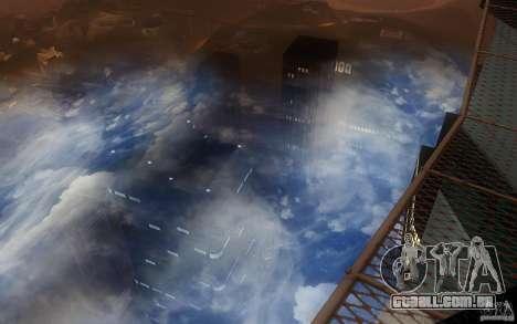 Real Sky Efects para GTA San Andreas segunda tela