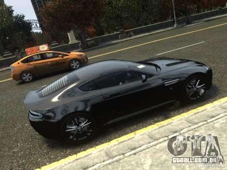 Aston Martin V12 Vantage 2010 V.2.0 para GTA 4 esquerda vista