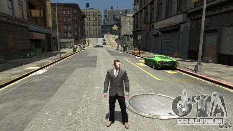Calça jeans preta para GTA 4