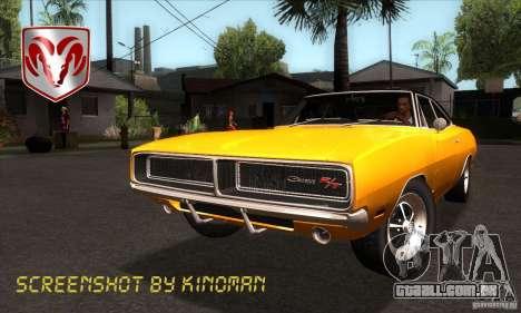 Dodge Charger RT 1969 para GTA San Andreas