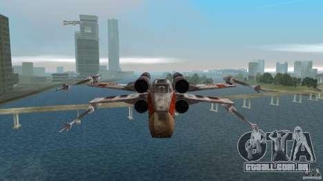 X-Wing Skimmer para GTA Vice City vista interior