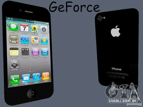 IPhone 4 para GTA San Andreas