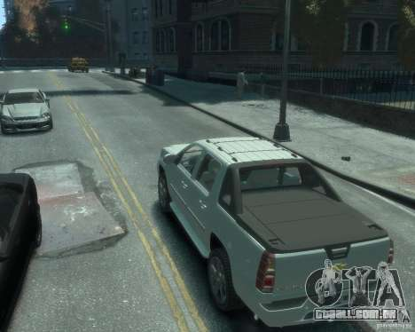 Chevrolet Avalanche Version Pack 1.0 para GTA 4 esquerda vista