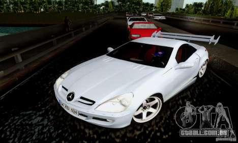 Mercedes-Benz SLK 55 AMG para GTA San Andreas vista traseira