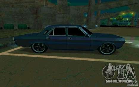 Volga GAZ 24 v2 (beta) para GTA San Andreas vista direita