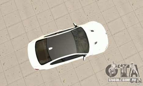 BMW M3 2008 para GTA San Andreas vista interior