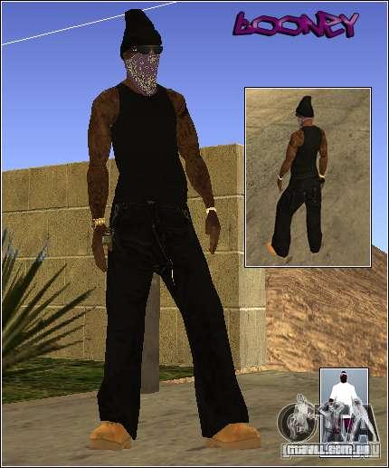 Pele Pack Getto para GTA San Andreas quinto tela