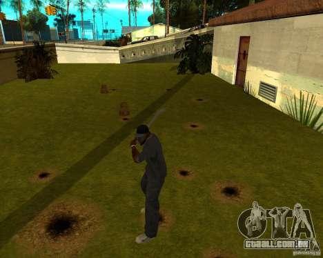 Tubulação de água para GTA San Andreas terceira tela