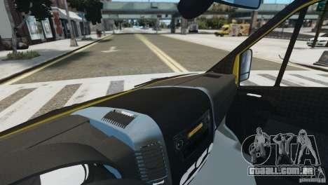 Mercedes-Benz Family Frost para GTA 4 vista de volta
