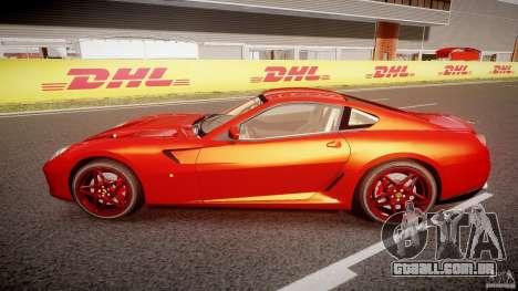Ferrari 599 GTB Fiorano 2006 (Beta) para GTA 4 esquerda vista