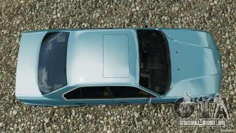 BMW E34 V8 540i para GTA 4 vista direita