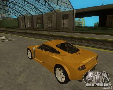 Ginetta F400 para GTA San Andreas esquerda vista
