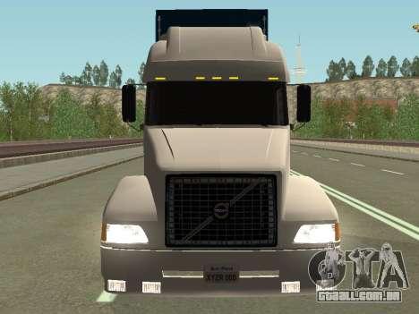 Volvo VNL para GTA San Andreas vista traseira