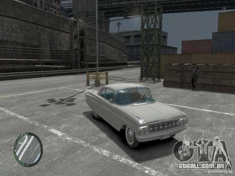 Chevrolet Impala 1959 Soupe para GTA 4 traseira esquerda vista