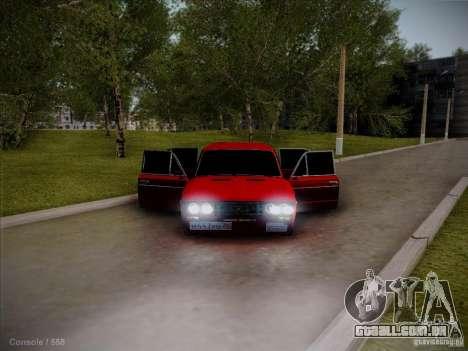 VAZ 2106 Pyatigorsk para GTA San Andreas vista traseira