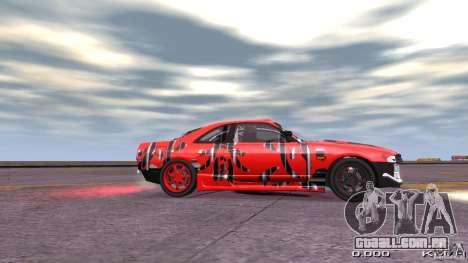 Nissan SkyLine R33 Gt-R S.R para GTA 4 traseira esquerda vista