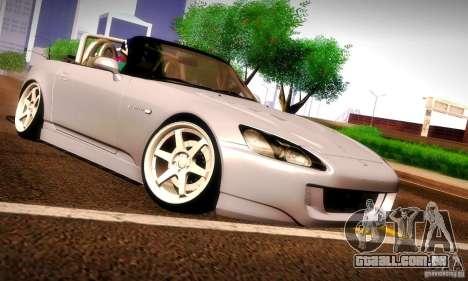 Honda S2000 Street Tuning para GTA San Andreas vista traseira