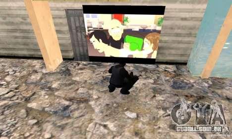 South Park Grafitti Mod para GTA San Andreas segunda tela