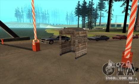 Rota v 1.0 para GTA San Andreas segunda tela