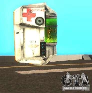 Kit de armadura e primeiros socorros de Half-Lif para GTA San Andreas segunda tela
