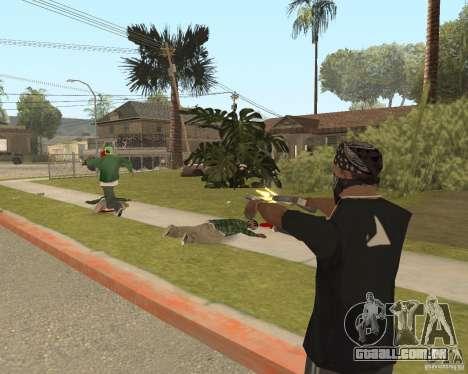 Mark and Execute para GTA San Andreas quinto tela