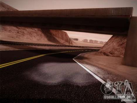 New Roads v1.0 para GTA San Andreas segunda tela