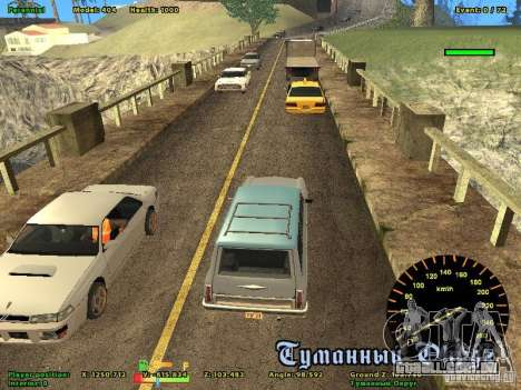 DMX para GTA San Andreas terceira tela