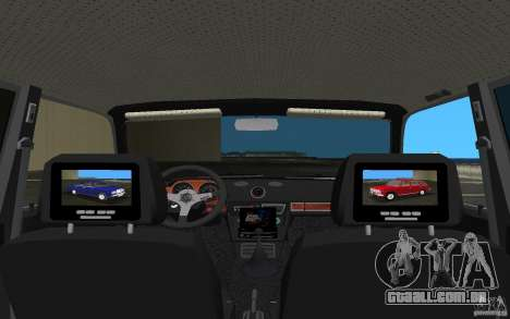 VAZ 2106 Tuning v 3.0 para GTA Vice City vista interior
