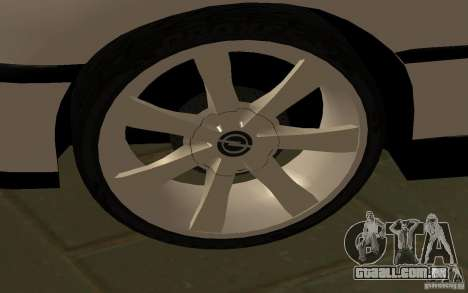 Opel Omega para GTA San Andreas esquerda vista