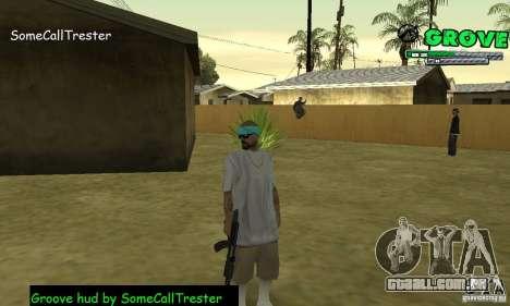 Grove Hud By SCT para GTA San Andreas terceira tela