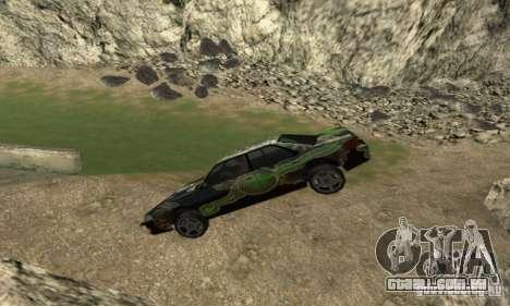 Zamedlenie Time para GTA San Andreas segunda tela