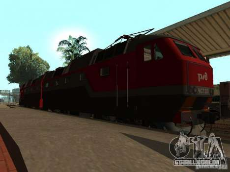 Cs7 CFR 233 para GTA San Andreas esquerda vista