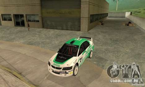 Mitsubishi Lancer Evolution IX para o motor de GTA San Andreas