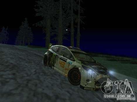 Ford Fiesta Ken Block WRC para GTA San Andreas