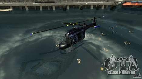 NYC Helitours Texture para GTA 4 esquerda vista