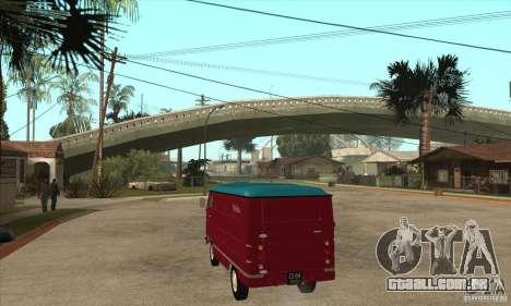 762 YERAZ em para GTA San Andreas traseira esquerda vista