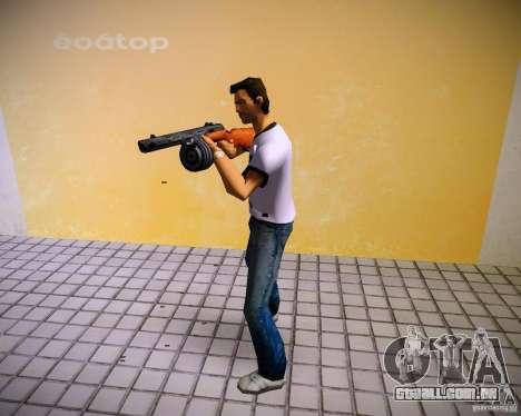 PPSH-41 para GTA Vice City quinto tela