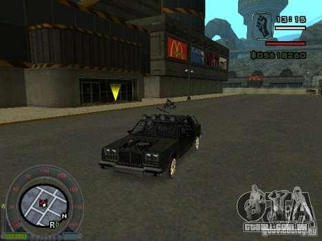 O novo Greenwood para GTA San Andreas