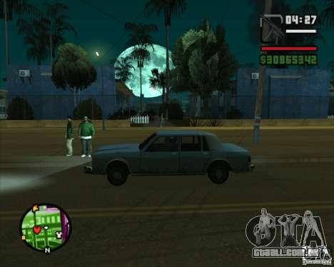 Lua para GTA San Andreas segunda tela