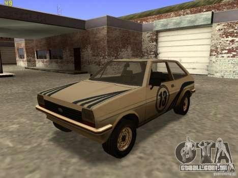 Ford Fiesta 1981 para GTA San Andreas