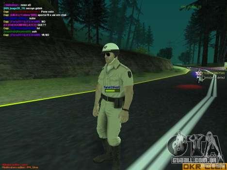 HQ texture for MP para GTA San Andreas segunda tela