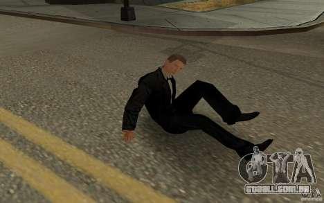 Agente 007 para GTA San Andreas oitavo tela