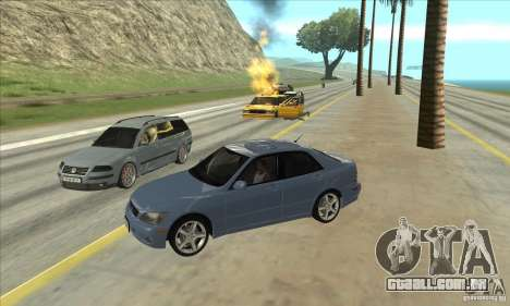 Real ENB Settings v3.0 The End version para GTA San Andreas terceira tela