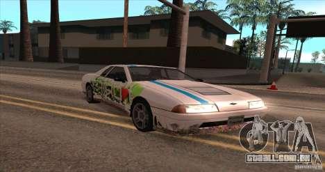 Paintjob for Elegy para GTA San Andreas esquerda vista