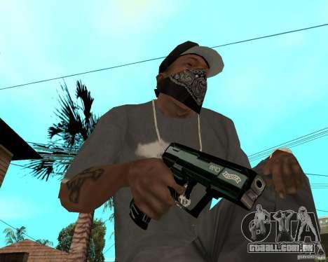 Walther cp99 para GTA San Andreas segunda tela